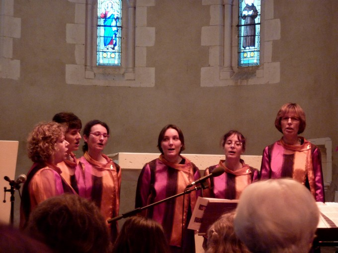 une chorale exceptionnelle ;OPACAD P1020523