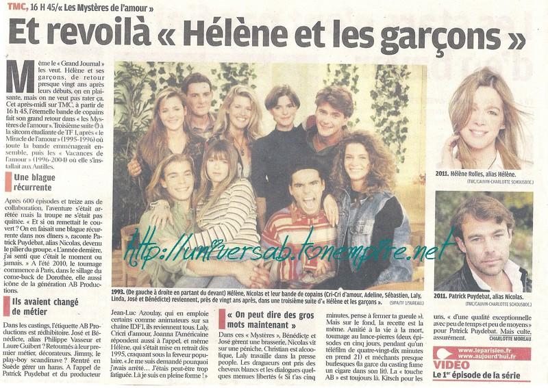 """Et revoilà """"Hélène et les garçons"""" 05910"""