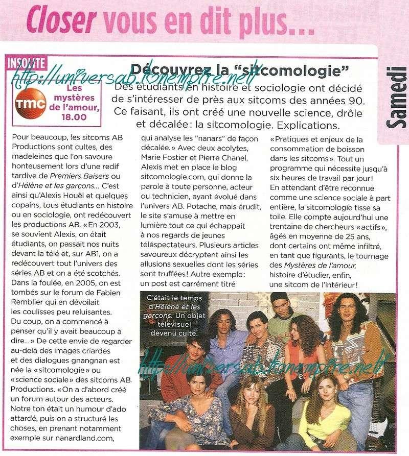 """Découvez la """"sitcomologie"""" 06310"""