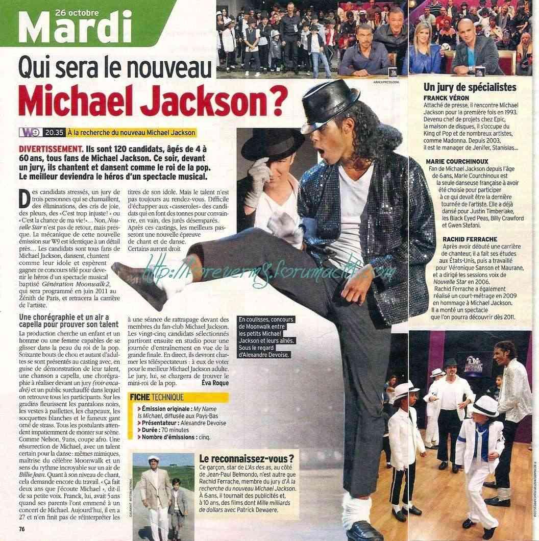 Qui sera le nouveau Michael Jackson ? 11810