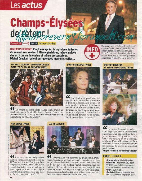 Champs Elysées de retour ! 14611