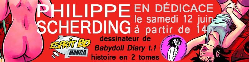 """Dédicace Philippe """"Groumpf"""" Scherding le 12 juin 2010 Grompf13"""