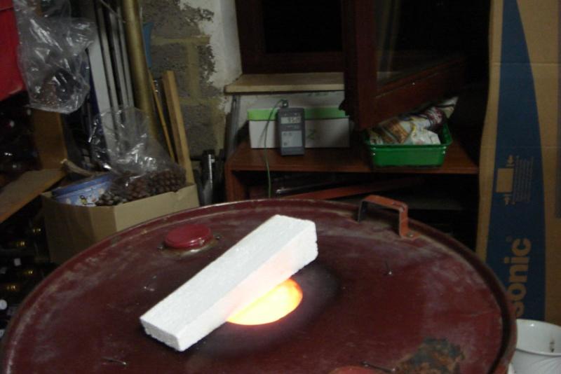J'ai fabriqué mon four à gaz C10