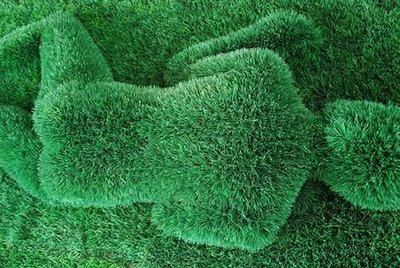 Sculptures d'herbes Man-gr10