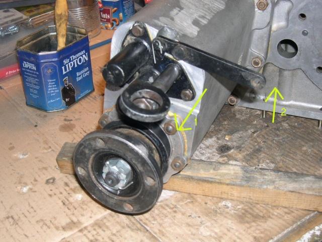 Remise en état de la boîte de vitesses de serie III... 416