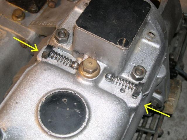 Remise en état de la boîte de vitesses de serie III... 520