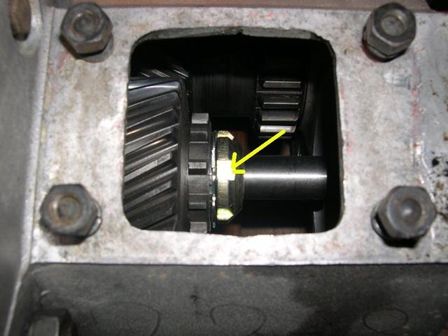 Remise en état de la boîte de vitesses de serie III... 716