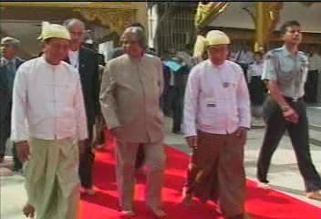 President of the Republic of India Visited  Myanmar in 2006 1511