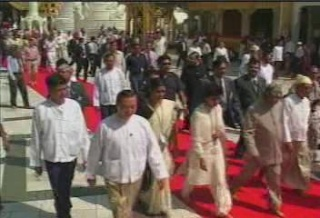 President of the Republic of India Visited  Myanmar in 2006 1711