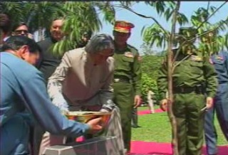 President of the Republic of India Visited  Myanmar in 2006 1811