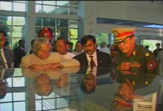 President of the Republic of India Visited  Myanmar in 2006 2111