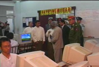 President of the Republic of India Visited  Myanmar in 2006 2211