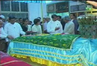 President of the Republic of India Visited  Myanmar in 2006 2311