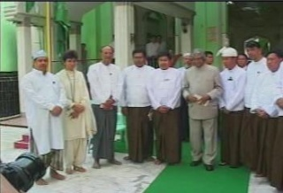 President of the Republic of India Visited  Myanmar in 2006 2410