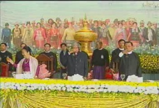 President of the Republic of India Visited  Myanmar in 2006 2510