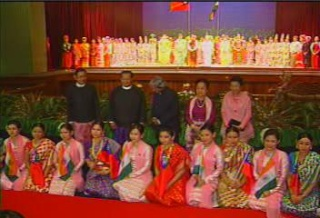 President of the Republic of India Visited  Myanmar in 2006 2610