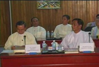 President of the Republic of India Visited  Myanmar in 2006 2710