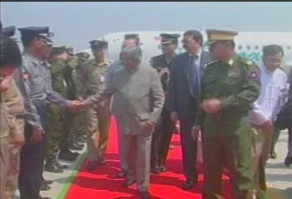 President of the Republic of India Visited  Myanmar in 2006 3010