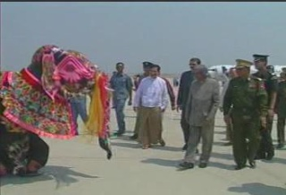 President of the Republic of India Visited  Myanmar in 2006 3110