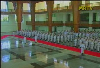 President of the Republic of India Visited  Myanmar in 2006 312
