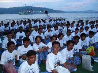 Myanmar Fishermen Went Back Home! 313