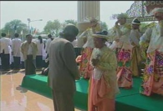 President of the Republic of India Visited  Myanmar in 2006 3310