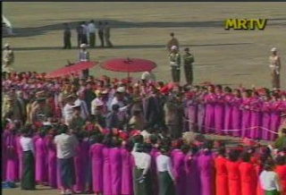 President of the Republic of India Visited  Myanmar in 2006 412