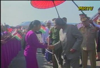 President of the Republic of India Visited  Myanmar in 2006 712