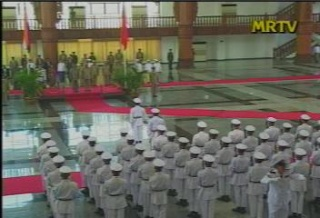 President of the Republic of India Visited  Myanmar in 2006 812