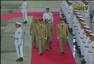 President of the Republic of India Visited  Myanmar in 2006 912