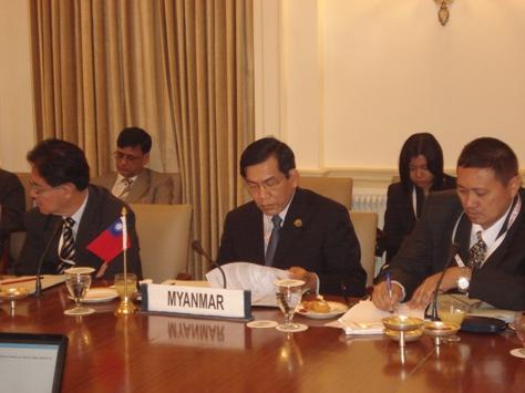 Myanmar Prime Minister Attends BIMSTEC Summit in New Delhi. Dsc00910