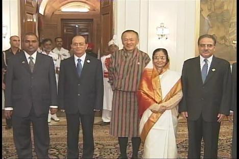 Myanmar Prime Minister Attends BIMSTEC Summit in New Delhi. Pm_810