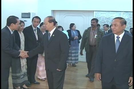 Myanmar Prime Minister Attends BIMSTEC Summit in New Delhi. Pm_and11