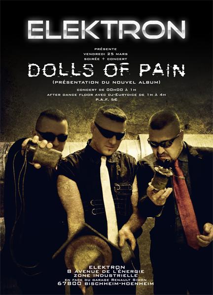 concert de dolls of pain sortie du 4ème album + soirée  Flyer-10