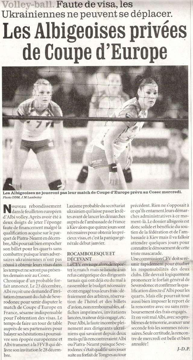 CLICK'PRONOSTIC Albi Volley - Severodonec (UKR) Numari11