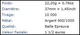 Mdp 37mm euro Argent _descr10