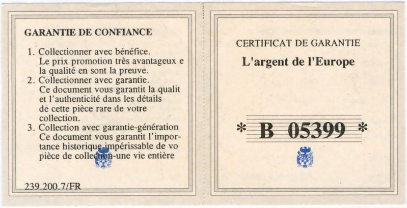 European Currencies Certif10