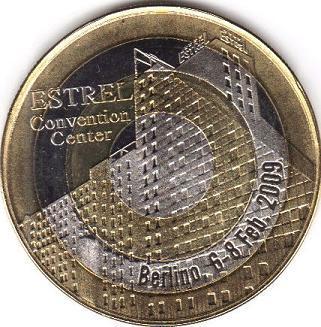 jeton quadri-métallique Cronac10