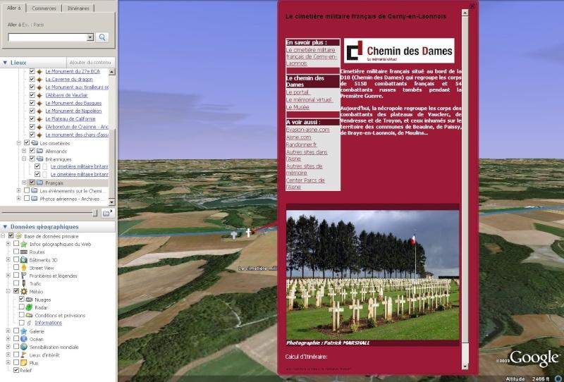 Découvrez le Chemin des Dames sur Google Earth [fichier KMZ pour Google Earth] 2_cime10