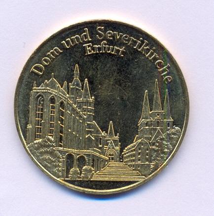 Médailles diverses Erfurt10