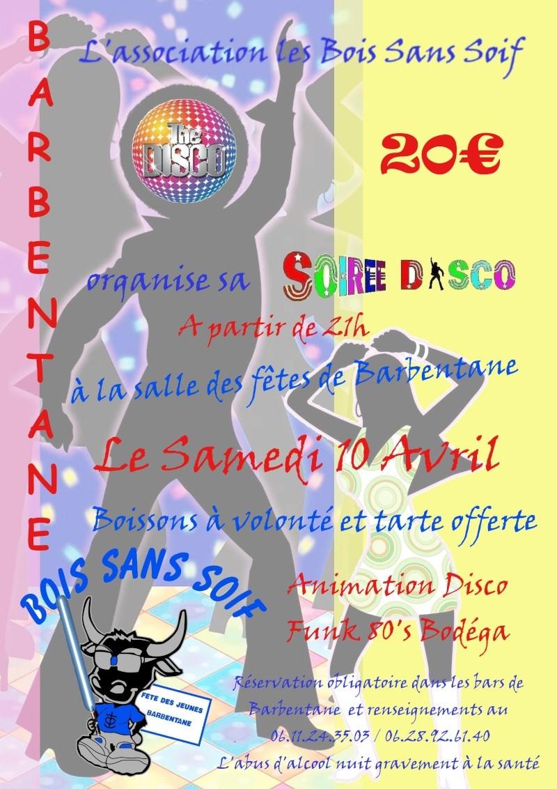 Soirée disco le 10 Avril 2010 Barbentane Soirae10