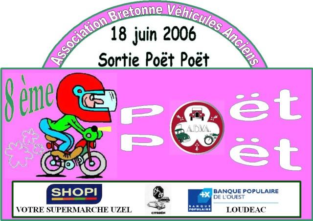 POET POET 2006 Plaque10