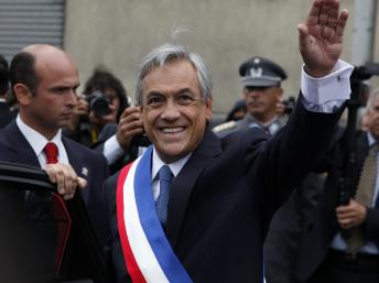 Chili : les défis de l'après séisme pour le président Piñera 2010-010