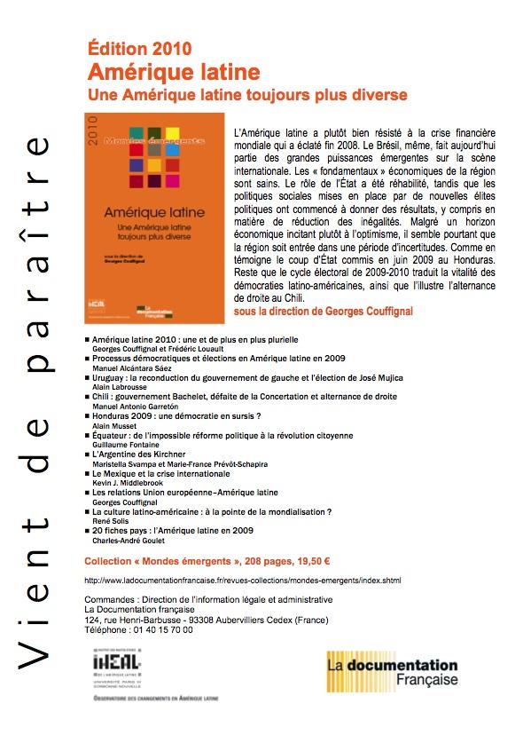 Amérique latine 2010 Amariq10