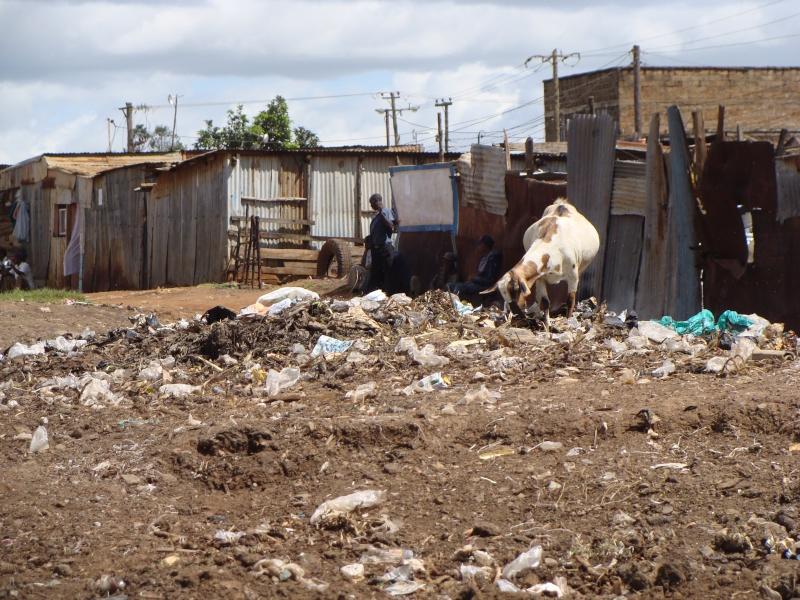 Mission à Nairobi-Slum de Dandora Dandor17