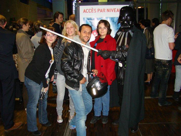 Science et Fiction: aventures croisées. Inauguration. Entrae10
