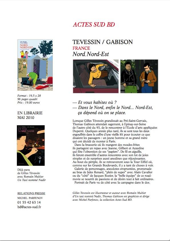 Sortie de Nord.Nord-Est, de Thomas Gabison et Gilles Tévessin Nord-n10