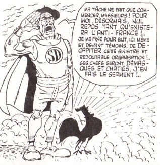 Les Français dans la bande dessinée Superd10