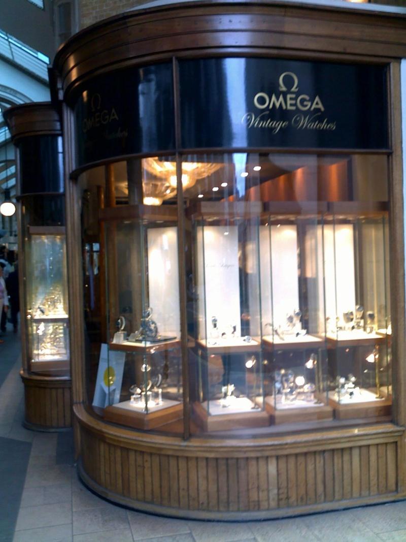 Boutique Omega Vintage à Londres, une bonne idée 10062011