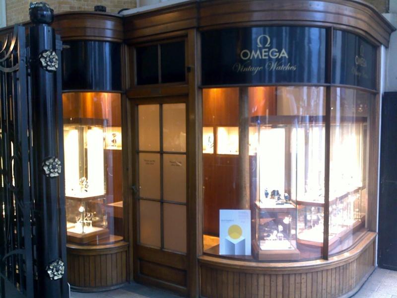Boutique Omega Vintage à Londres, une bonne idée 10062012